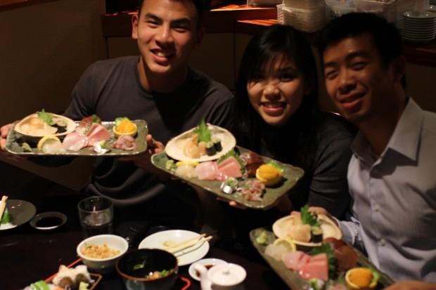 Sushi Ota + Xmas Card Lane
