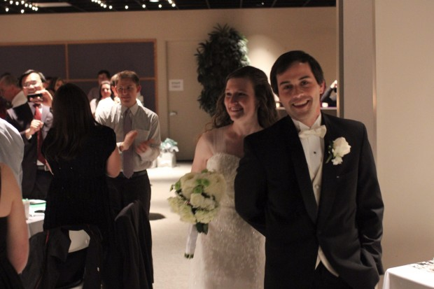 newly weds: Mandy and Joseph Harmon!