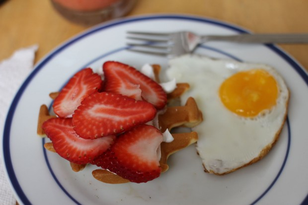 Mother's Day Weekend: Home-made breakfast