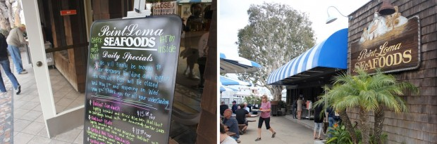 Mother's Day Weekend: Point Loma Seafood and NTC
