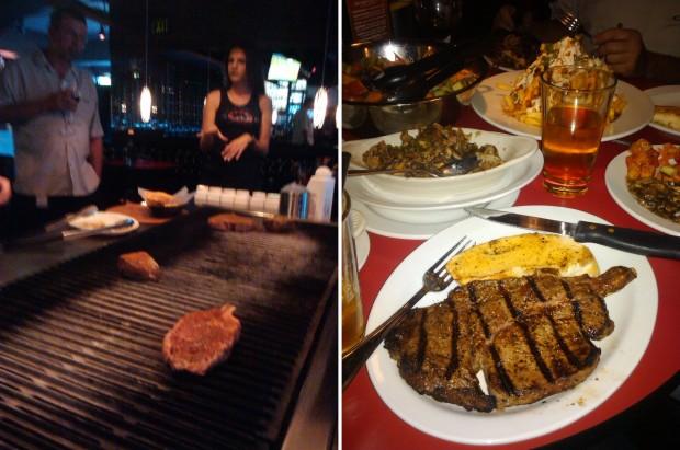 La Jolla Strip Club...it's a steak house