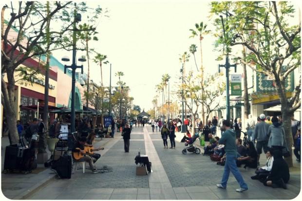 santa monica 3rd street promenade